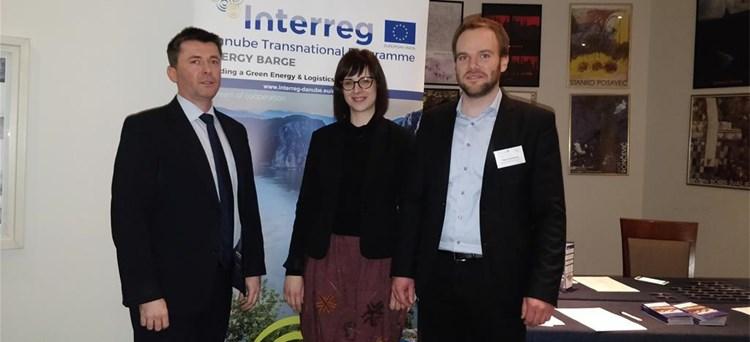 Predstavljanje projekta Made in Danube na radionici projekta Energy Barge
