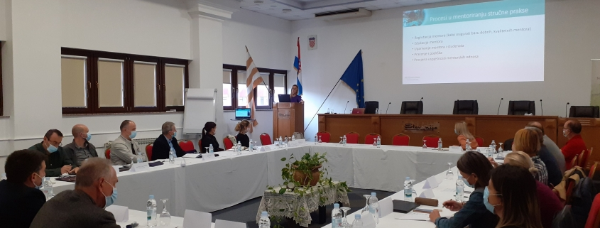 Mentors training for Croatian companies in Vinkovci